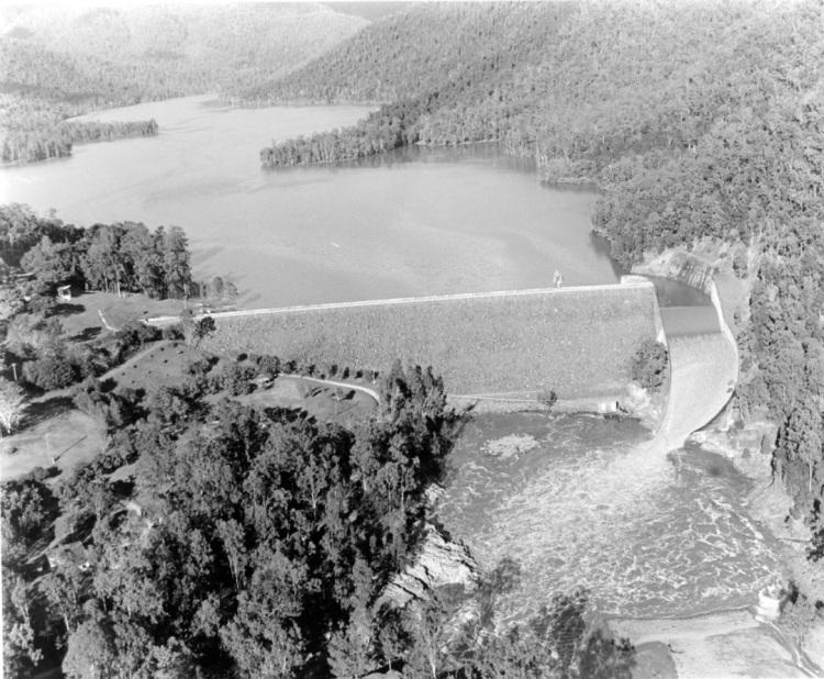 Borumba Dam - c1970 - Keith Waser Collection
