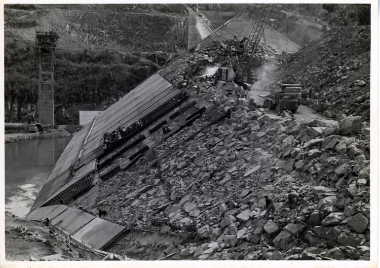 Borumba Dam construction 1960-1964 - donated by Keith Buchanan