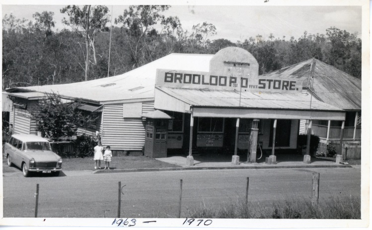 Brooloo Post Office and store - donated by Jennifer Grainger