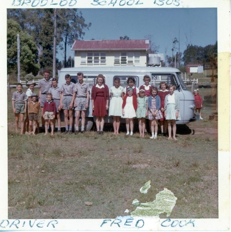 Brooloo School 1965- donated by Jennifer Grainger nee Cook