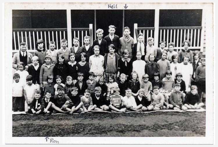 Brooloo School - Tom Bath teacher - Gympie Regional Libraries collection