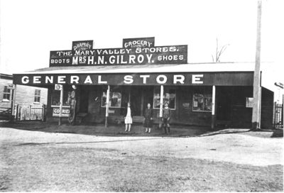 Gilroys General Store, Mary Valley Stores, Mrs H. N. Gilroy - donated by Pam Hopkins