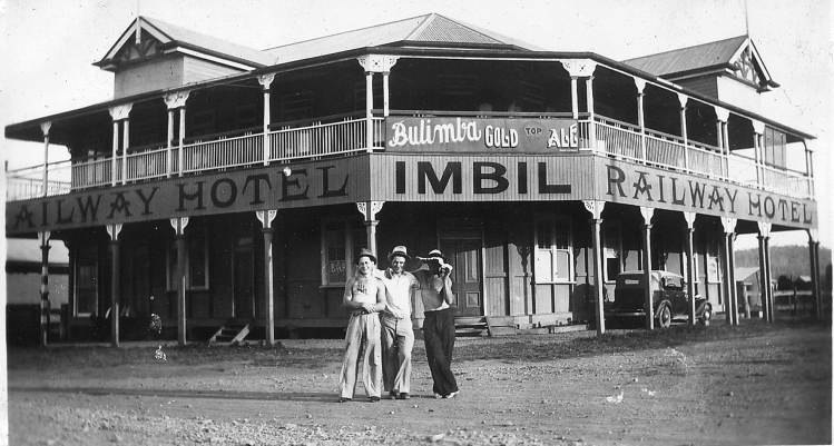Imbil Hotel - donated by Pam Hopkins