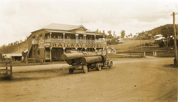 Imbil Railway Hotel - donated by Pam Hopkins