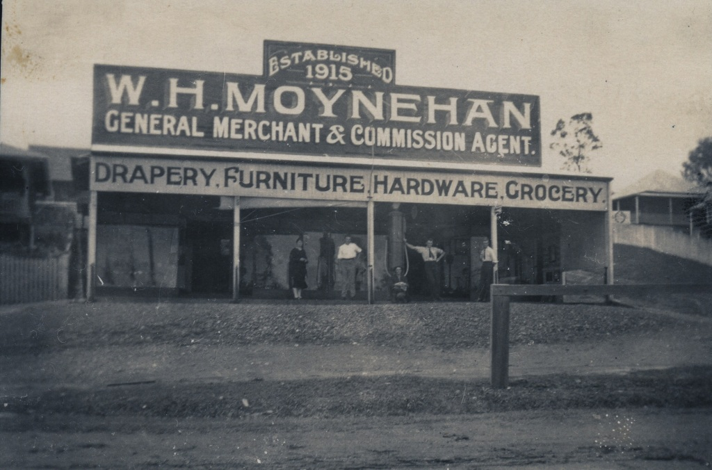 W.H Moynehan - Imbil 1926 - donated by Ian Stehbens