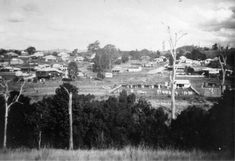Kandanga township, c1950 - Gympie Regional Libraries