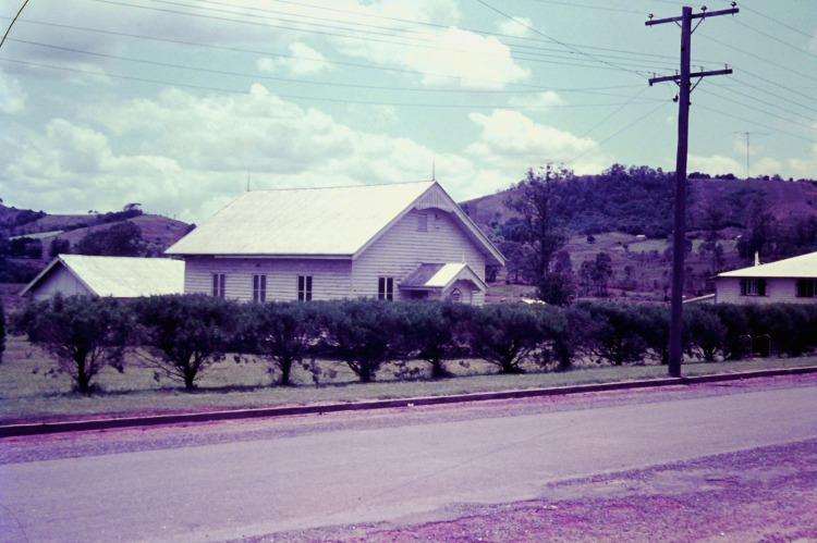 Amamoor Uniting Church, ca. 1970 - photo by John Kington