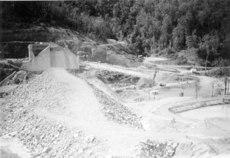 Borumba Dam - 1962 - Gympie Regional Libraries
