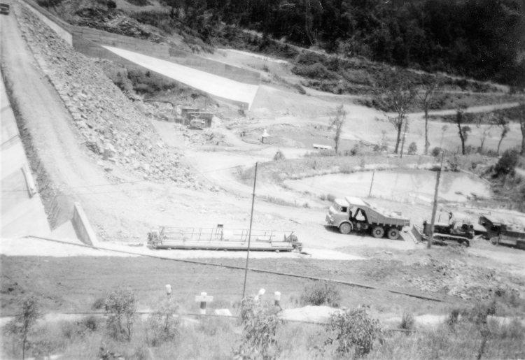 Borumba Dam - 1964 - Gympie Regional Libraries