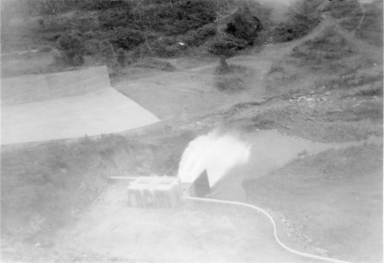 Borumba Dam - 1965 - Gympie Regional Libraries