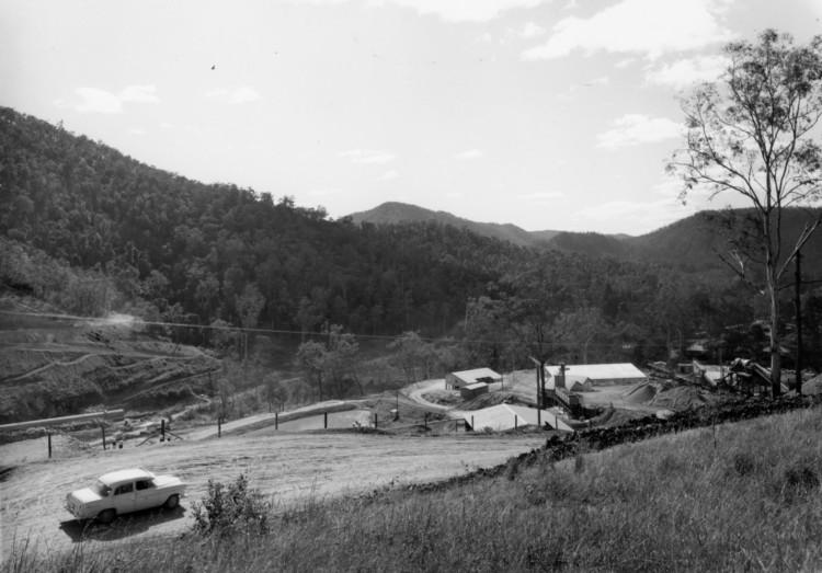 Borumba Dam on Yabba Creek, ca 1970 (built 1960-1964), Thiel Photographers - Keith Waser collection