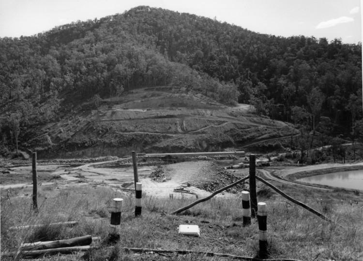 Borumba Dam on Yabba Creek, ca1970 (built 1960-1964), Thiel Photographers, Brisbane - Keith Waser collection