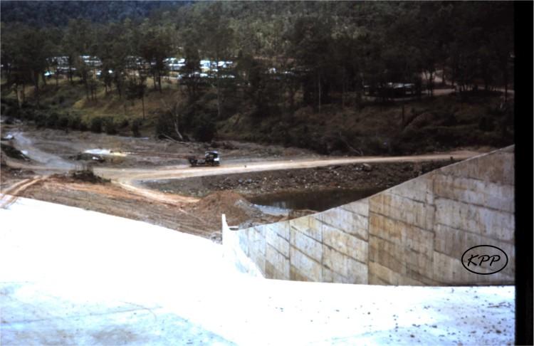 Borumba Dam spillway construction - donated by Kaili Parker-Price