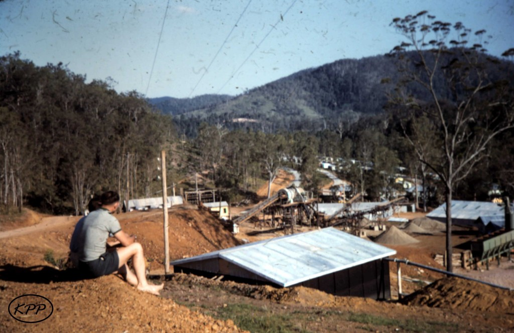 Borumba under construction - taken by Pauline and George Price - donated by Kaili Parker-Price