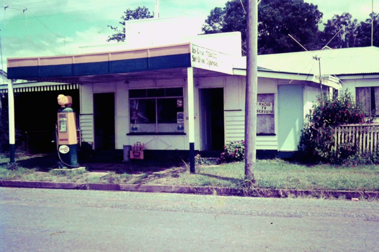 General Store in Amamoor, Queensland, Ca 1970 - photo by John Kington
