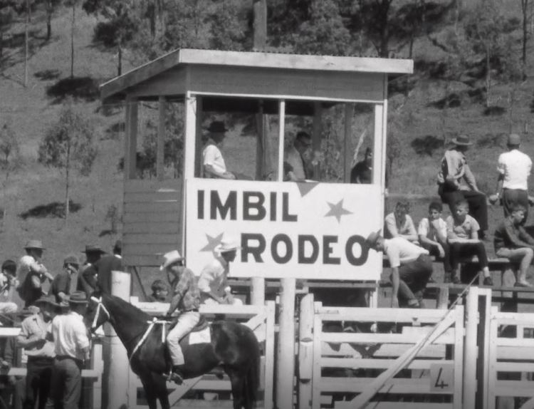 Imbil show 1966 - Rodeo stand Originally a news broadcast on Wide Bay Television. This photo was taken from a film which was originally produced by WBQ 8 and was reproduced as 7 Extract from the Archives project. The project was supported by an innovation grant from the Library Board of Queensland. © 2020 Seven Network and Gympie Regional Libraries View details at: www.gympieregionalmemories.com