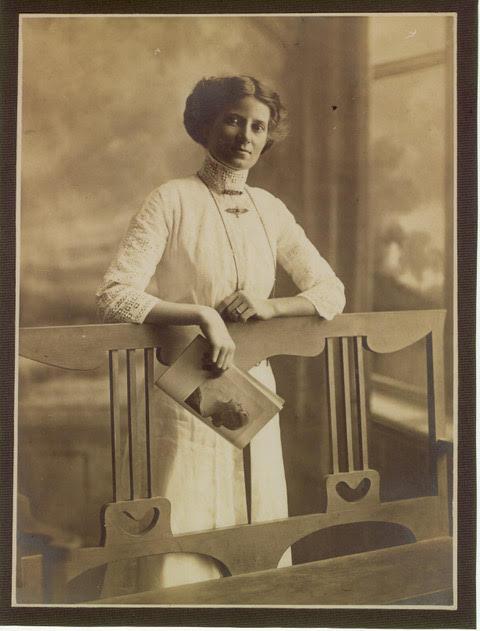 Isobel Jane Wherry STEPHENS, nee Sandercock, married John Schofield Richardson STEPHENS, lived Kandanga. - donated by Rochelle Bull