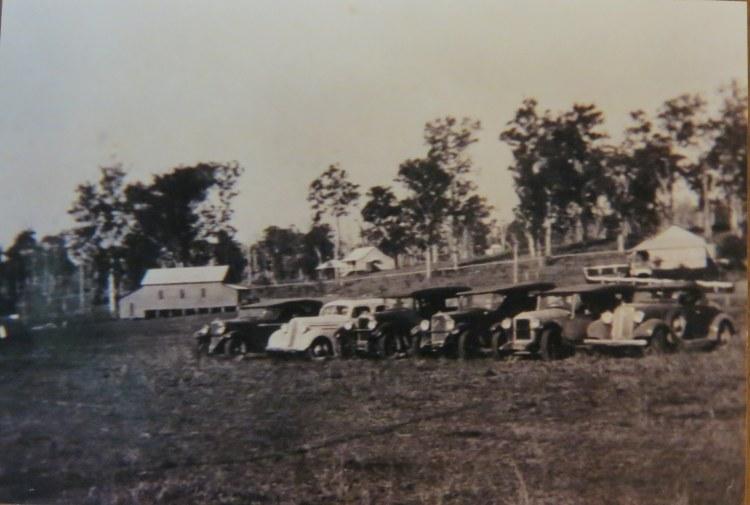 Upper Kandanga (John Doyle's Hall on left) - Gympie Regional Libraries
