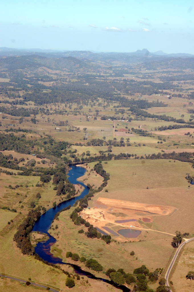 Mary River - Traveston Dam protest - April 2006 - Gympie Times collection