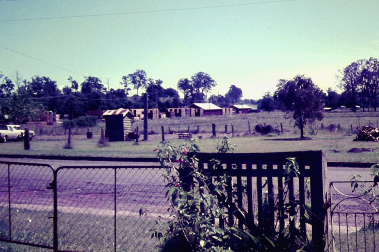 View of a street, Amammor, ca 1970 - photograph by John Kington - John Oxley Library, State Library of Queensland