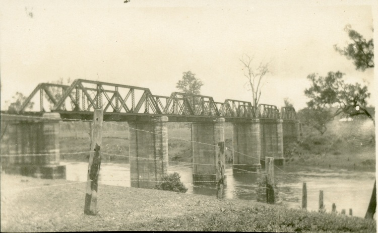Imbil Railway Bridge, ca 1920's
