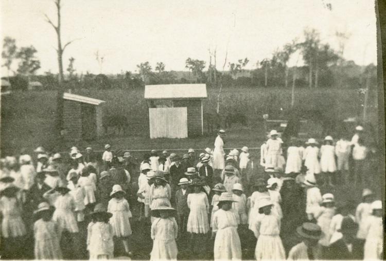 Imbil State School ca 1920, photo by Catherine J. Stehbens